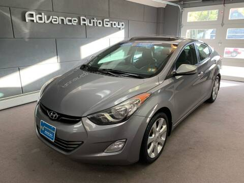 2013 Hyundai Elantra for sale at Advance Auto Group, LLC in Chichester NH