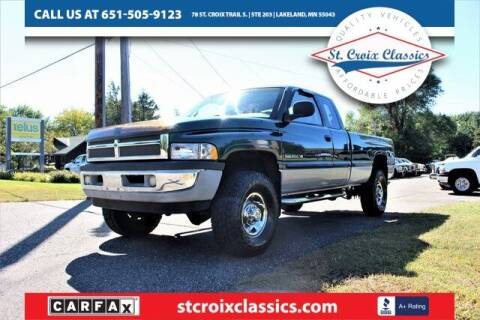 1999 Dodge Ram Pickup 2500 for sale at St. Croix Classics in Lakeland MN