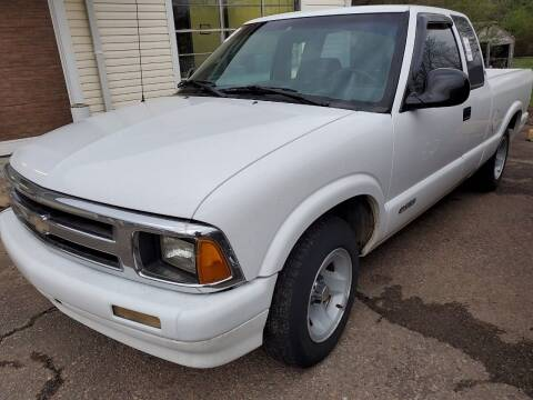1997 Chevrolet S-10 for sale at Shelton & Son Auto Sales L.L.C in Dover AR