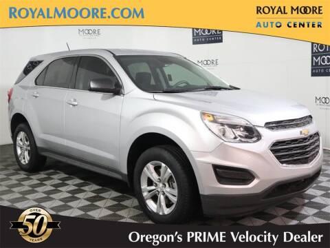 2017 Chevrolet Equinox for sale at Royal Moore Custom Finance in Hillsboro OR