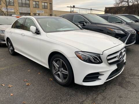 2017 Mercedes-Benz E-Class for sale at LUXURY CARS OF NY in Queens NY