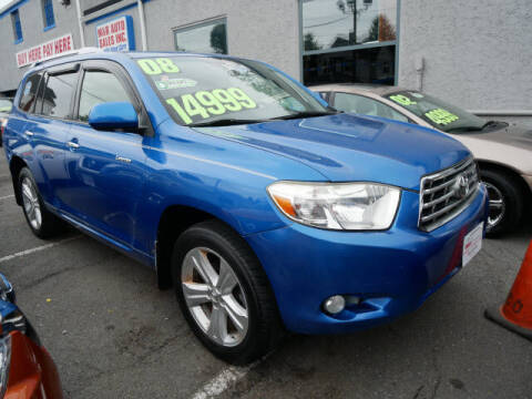 2008 Toyota Highlander for sale at M & R Auto Sales INC. in North Plainfield NJ