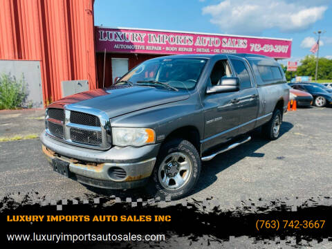 2005 Dodge Ram Pickup 1500 for sale at LUXURY IMPORTS AUTO SALES INC in North Branch MN