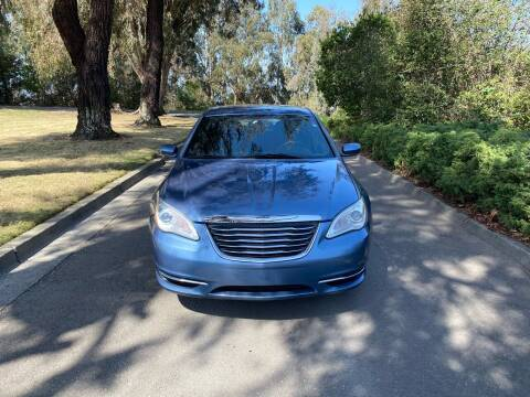 2011 Chrysler 200 for sale at CARFORNIA SOLUTIONS in Hayward CA