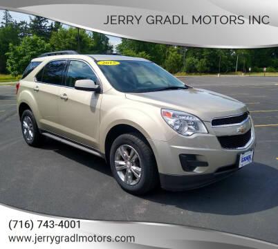 2015 Chevrolet Equinox for sale at JERRY GRADL MOTORS INC in North Tonawanda NY