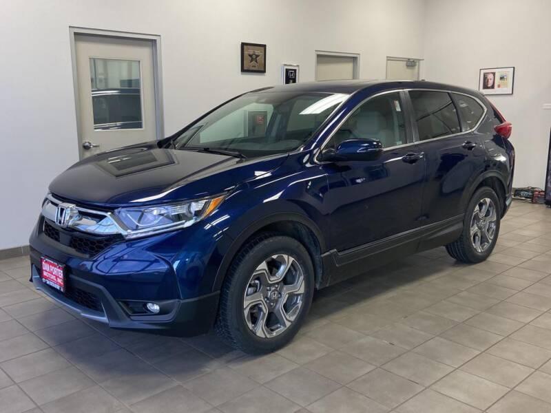 2018 Honda CR-V for sale at DAN PORTER MOTORS in Dickinson ND
