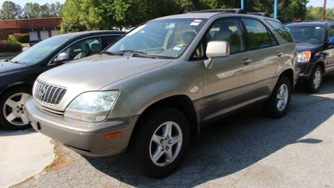 2001 Lexus RX 300 for sale at NORCROSS MOTORSPORTS in Norcross GA