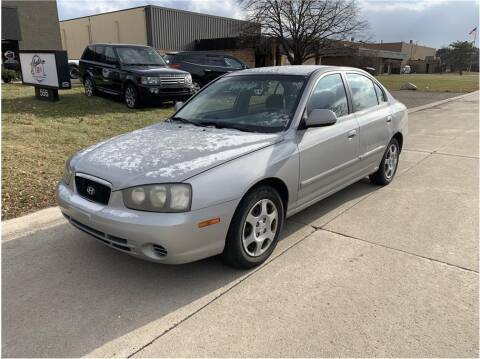 2003 Hyundai Elantra for sale at Metro Car Co. in Troy MI