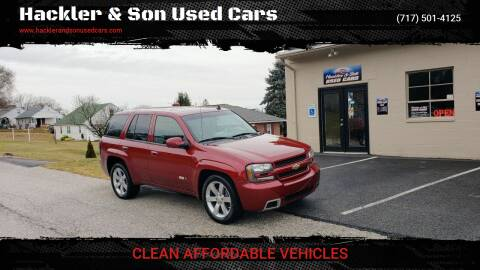 2007 Chevrolet TrailBlazer for sale at Hackler & Son Used Cars in Red Lion PA