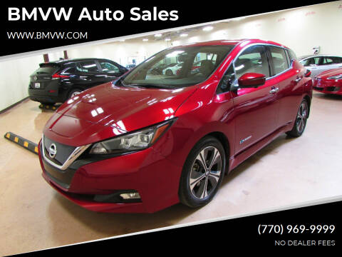 2018 Nissan LEAF for sale at BMVW Auto Sales - Electric Vehicles in Union City GA