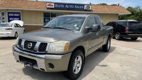 2007 Nissan Titan for sale at Elite Auto Sales in Portsmouth VA