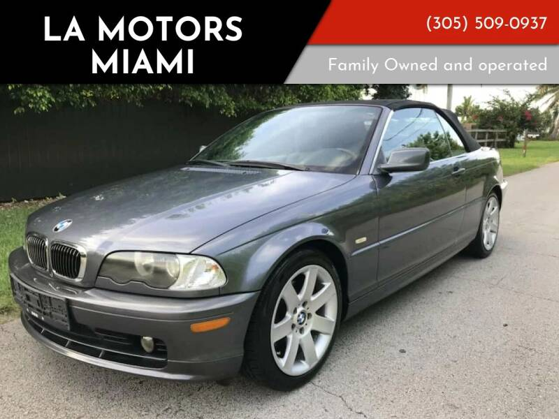 2002 BMW 3 Series for sale at LA Motors Miami in Miami FL