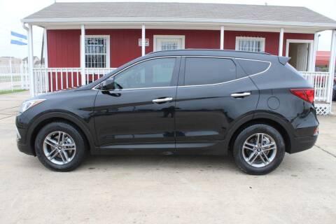 2017 Hyundai Santa Fe Sport for sale at AMT AUTO SALES LLC in Houston TX
