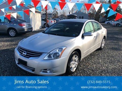 2012 Nissan Altima for sale at Jims Auto Sales in Lakehurst NJ