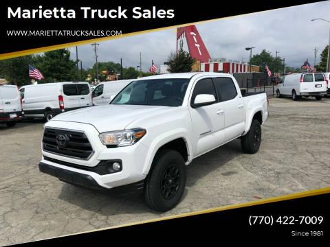 2019 Toyota Tacoma for sale at Marietta Truck Sales in Marietta GA