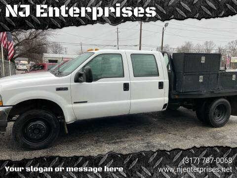 2003 Ford F-450 Super Duty for sale at NJ Enterprises in Indianapolis IN