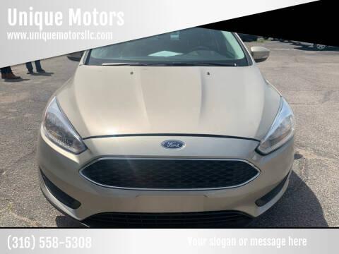 2017 Ford Focus for sale at Unique Motors in Wichita KS