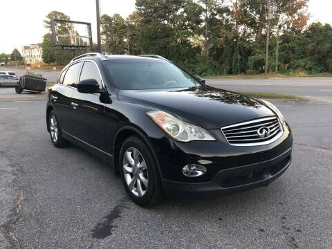 2008 Infiniti EX35 for sale at CAR STOP INC in Duluth GA