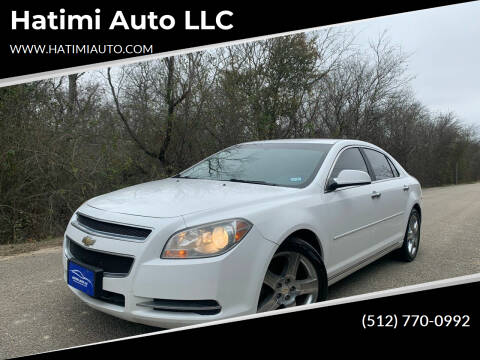 2012 Chevrolet Malibu for sale at Hatimi Auto LLC in Buda TX