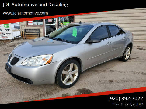 2006 Pontiac G6 for sale at JDL Automotive and Detailing in Plymouth WI