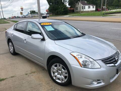 2012 Nissan Altima for sale at Zacatecas Motors Corp in Des Moines IA