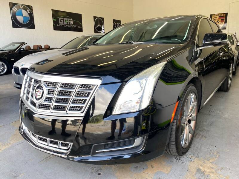 2014 Cadillac XTS for sale at GCR MOTORSPORTS in Hollywood FL