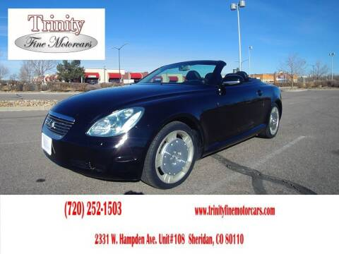 2003 Lexus SC 430 for sale at TRINITY FINE MOTORCARS in Sheridan CO