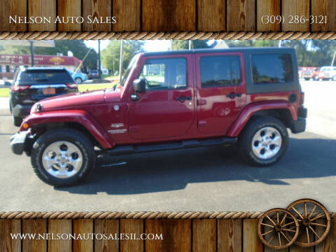 2013 Jeep Wrangler Unlimited for sale at Nelson Auto Sales in Toulon IL