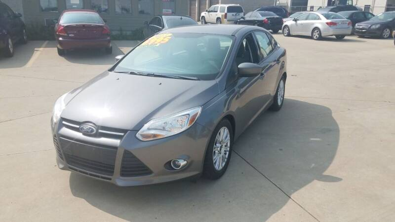 2012 Ford Focus for sale at Kenosha Auto Outlet LLC in Kenosha WI