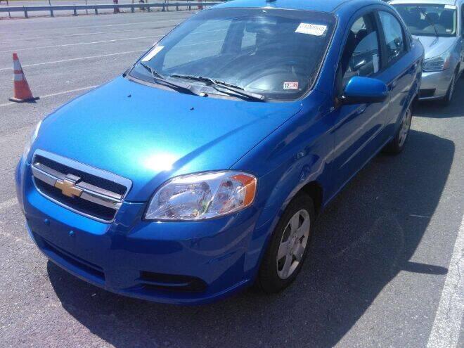 2009 Chevrolet Aveo for sale at Kansas Car Finder in Valley Falls KS