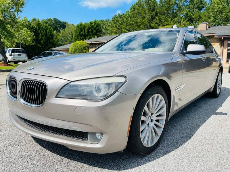 2012 BMW 7 Series for sale at Classic Luxury Motors in Buford GA