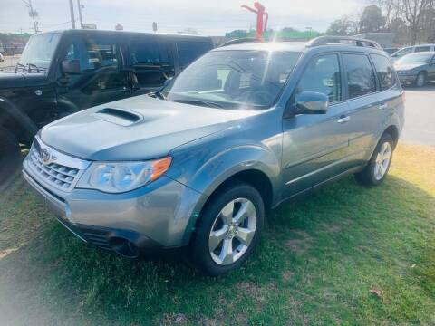 2013 Subaru Forester for sale at BRYANT AUTO SALES in Bryant AR