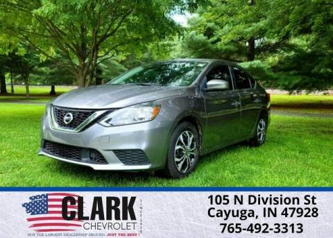 2019 Nissan Sentra for sale at Clark Chevrolet in Cayuga IN