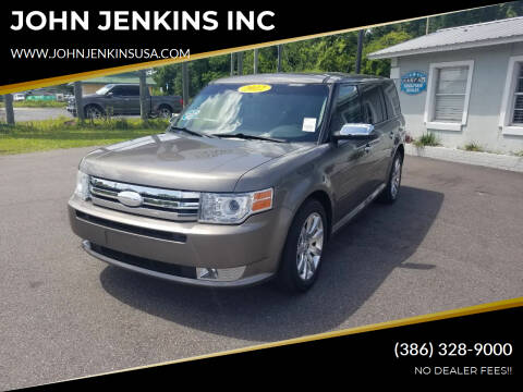 2012 Ford Flex for sale at JOHN JENKINS INC in Palatka FL