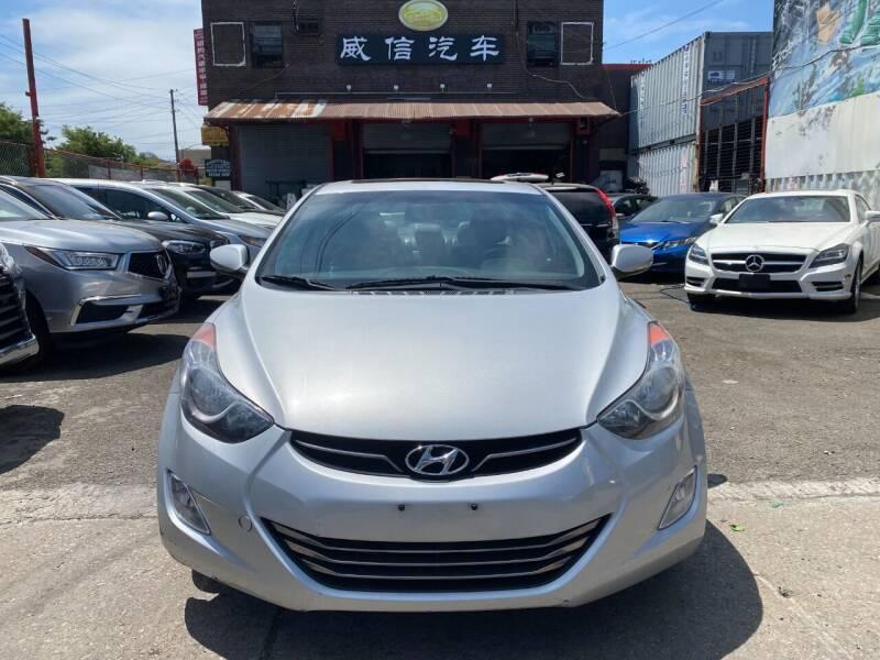 2013 Hyundai Elantra for sale at TJ AUTO in Brooklyn NY