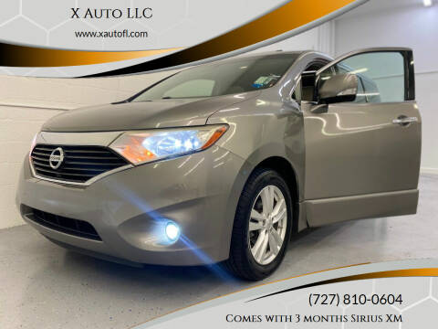 2012 Nissan Quest for sale at X Auto LLC in Pinellas Park FL