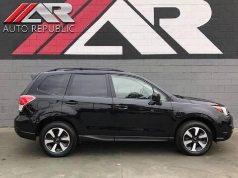 2017 Subaru Forester for sale at Auto Republic Fullerton in Fullerton CA