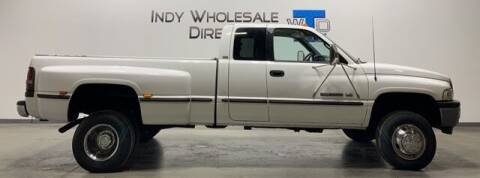 1998 Dodge Ram Pickup 3500 for sale at Indy Wholesale Direct in Carmel IN