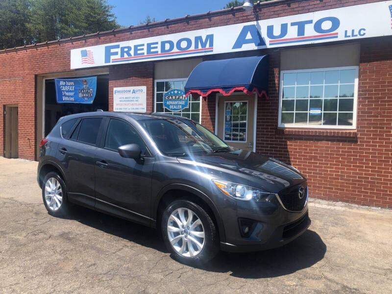 2014 Mazda CX-5 for sale at FREEDOM AUTO LLC in Wilkesboro NC