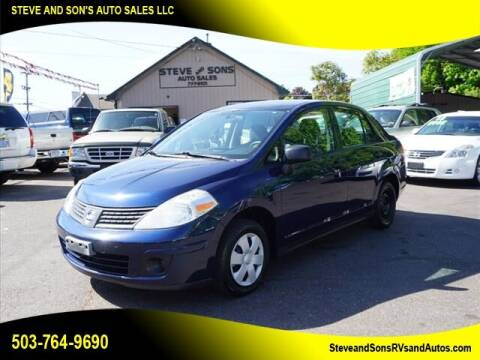 2009 Nissan Versa for sale at Steve & Sons Auto Sales in Happy Valley OR