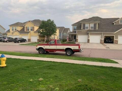 1988 Ford F-150 for sale at Classic Car Deals in Cadillac MI