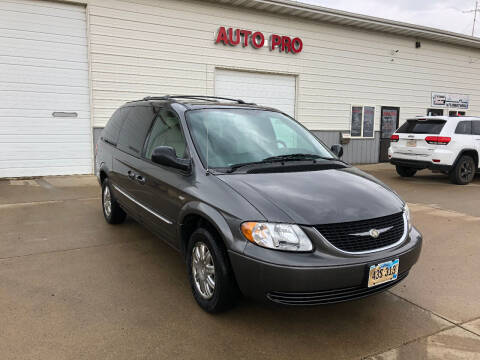 2004 Chrysler Town and Country for sale at AUTO PRO in Brookings SD