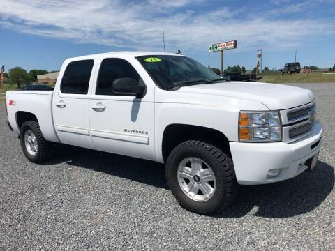 2012 Chevrolet Silverado 1500 for sale at RAYMOND TAYLOR AUTO SALES in Fort Gibson OK