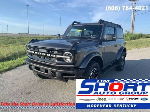 2021 Ford Bronco for sale at Tim Short Chrysler in Morehead KY