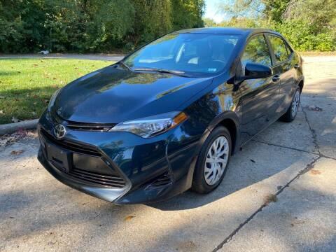 2017 Toyota Corolla for sale at Sansone Cars in Lake Saint Louis MO