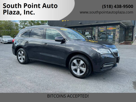 2015 Acura MDX for sale at South Point Auto Plaza, Inc. in Albany NY
