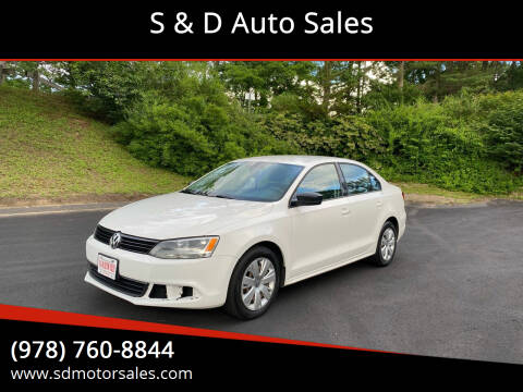 2013 Volkswagen Jetta for sale at S & D Auto Sales in Maynard MA