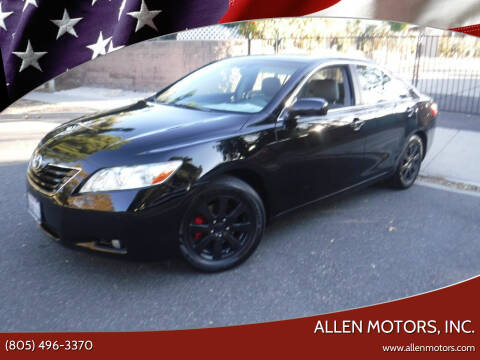 2007 Toyota Camry for sale at Allen Motors, Inc. in Thousand Oaks CA