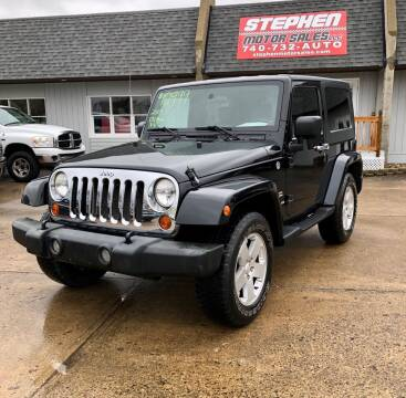 2007 Jeep Wrangler for sale at Stephen Motor Sales LLC in Caldwell OH