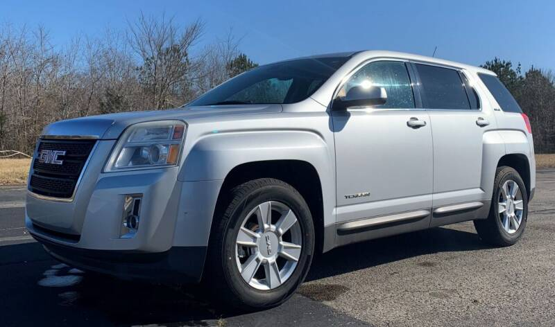 2010 GMC Terrain for sale at Crawley Motor Co in Parsons TN